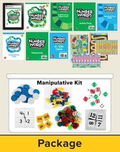 9780021295586: Number Worlds Level D Intervention Package 6-Year Teacher Subscription