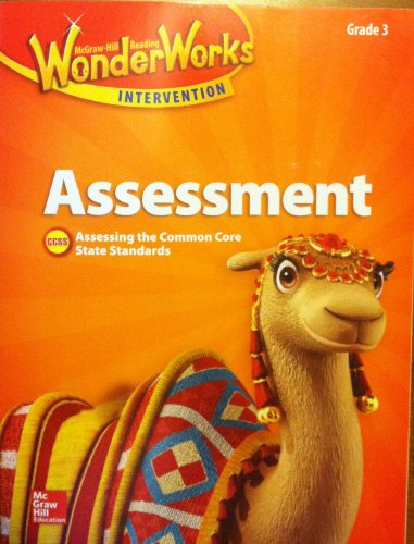 9780021297481: McGraw Hill Reading Wonders, Assessment, Grade 3, Assessing the Common Core State Standards, CCSS