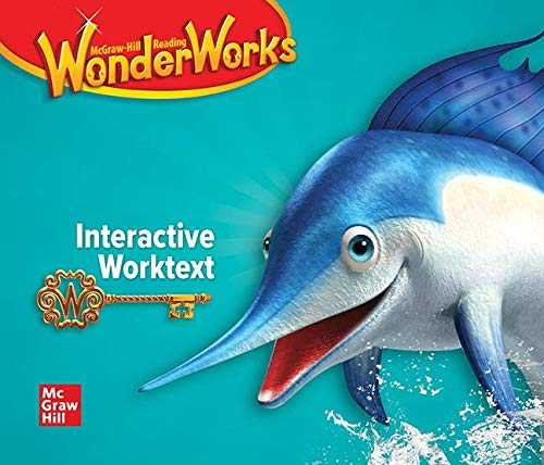 9780021297948: Wonder Works Interactive Worktext, Grade 2, McGraw Hill Reading