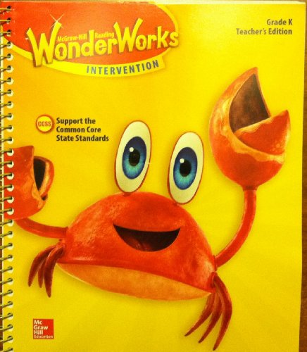 9780021298808: Wonder Works Intervention Grade K. Teachers Edition