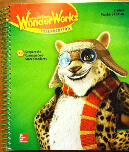 9780021298846: Wonder Works Intervention Grade 4. Teachers Edition