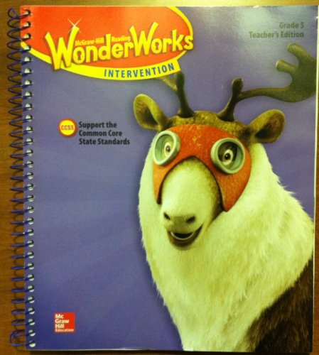 9780021298853: Wonder Works Intervention Grade 5. Teachers Edition