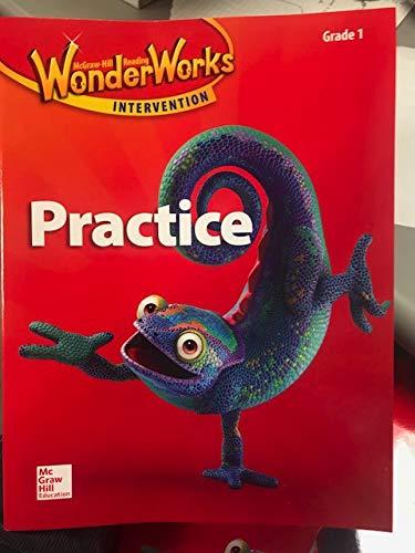 9780021299478: McGraw-Hill Reading Wonderworks Practice, Grade 1