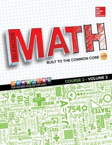 9780021301522: Glencoe Math, Vol. 2 Course 2, Student Edition (MATH APPLIC & CONN CRSE)