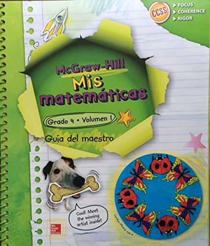 9780021315079: Mis Matematicas Grado 4 Volumen 1