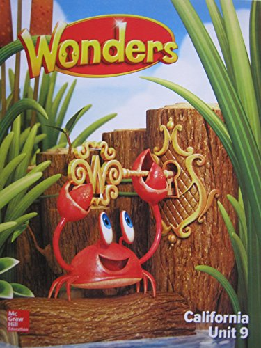 Wonders Grade K Unit 9 California Reading/Writing: Diane August, Donald