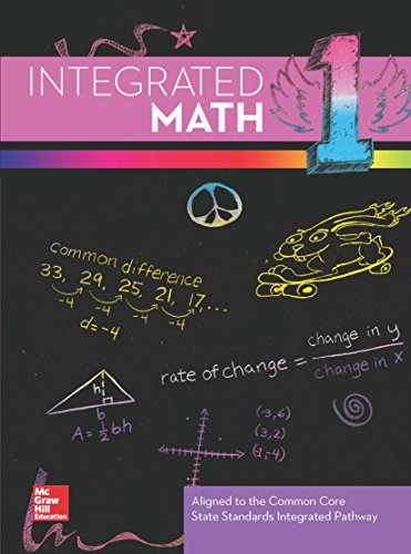 9780021349692: Integrated Math 1 Teacher Edition