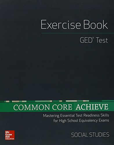 9780021355730: Common Core Achieve, GED Exercise Book Social Studies