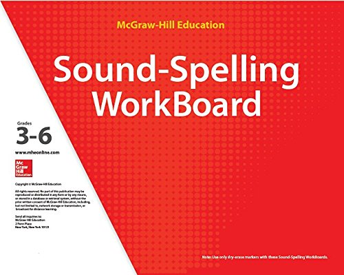 Sound-Spelling Workboard Grades 3-6: McGraw-Hill