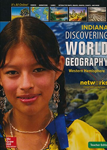 Discovering World Geography Western Hemisphere Indiana Teacher's Edition: Richard G. Boehm, Ph...