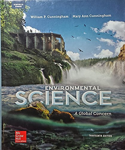 9780021364565: Cunningham, Environmental Science: A Global Concern 2015 13e, AP Student Edition (Reinforced Binding) (A/P ENVIRONMENTAL SCIENCE)