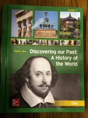 9780021383757: Discovering Our Past: A History of the World, Grade 7, Ohio Edition