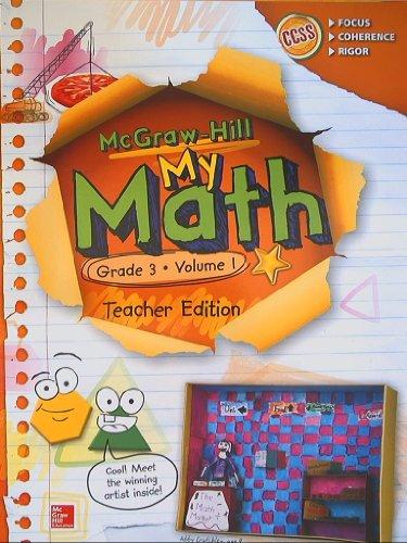 9780021383979: McGraw-Hill My Math, Grade 3 Volume 1, Teacher Edition, CCSS Common Core