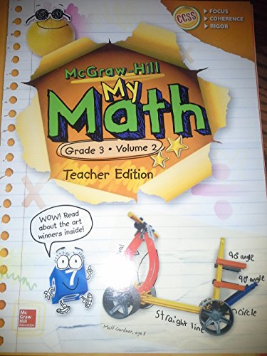 9780021383986: McGraw-Hill My Math, Grade 3 Volume 2, Teacher Edition, CCSS Common Core