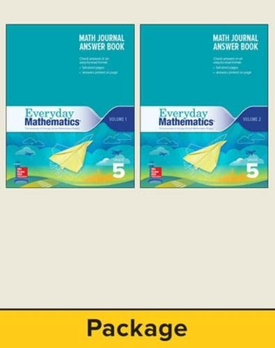 9780021391219: Journal Answer Teacher Book