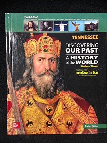 9780021392506: Discovering Our Past: A History of the World (Modern Times) - Tennessee Teacher's Edition