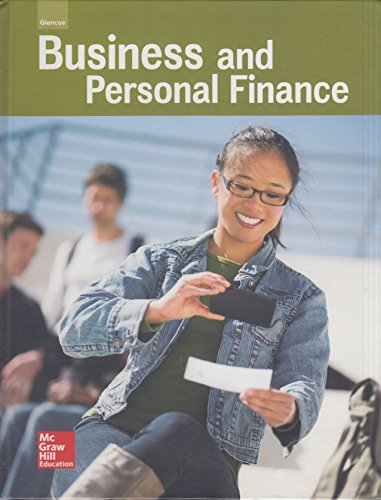 9780021400201: Glencoe Business and Personal Finance