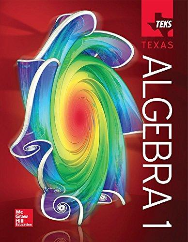 9780021402465: Algebra 1 - TEKS Texas Student Edition