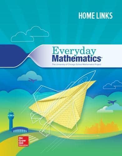9780021407941: Everyday Mathematics: Consumable Home Links