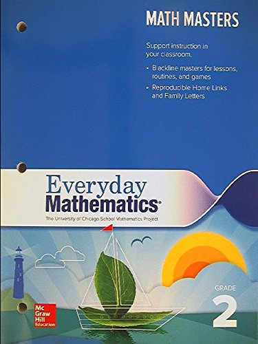 9780021409242: Everyday Mathematics: Math Masters Grade 2 The University of Chicago School Mathematics Project, 9780021409242, 0021409242, Copyright 2015
