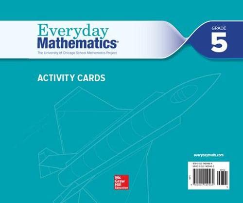 9780021409464: Everyday Mathematics 4, Grade 5, Activity Cards