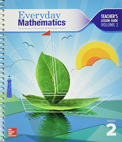 9780021409952: Everyday Mathematics. The University of Chicago School Mathematics Project. Grade 2. Teacher's Lesson Guide, Volume 2. Common Core. 9780021409952, 0021409951.