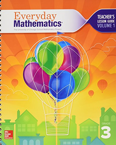 9780021409969: The University of Chicago School Mathematics Project - Everyday Mathematics - Grade 3 - TEACHER'S LESSON GUIDE - VOLUME 1 - 002140996x-9780021409969