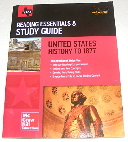 9780021411498: Teks Reading Essentials and Study Guide United States History to 1877