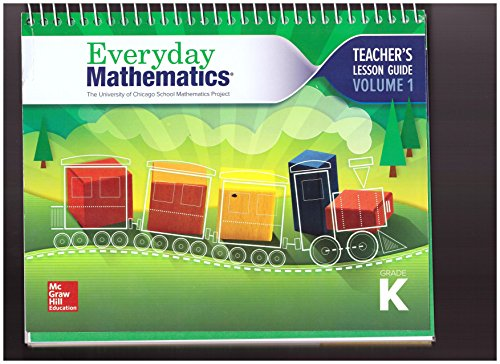 9780021414093: Everyday Mathematics Teacher's Lesson Guide Grade K Volume 1