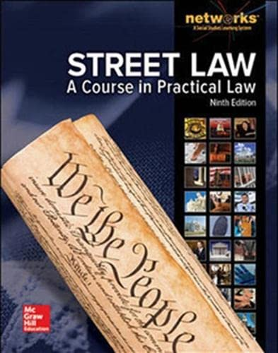 9780021429257: Street Law: A Course in Practical Law, Student Edition (NTC: STREET LAW)