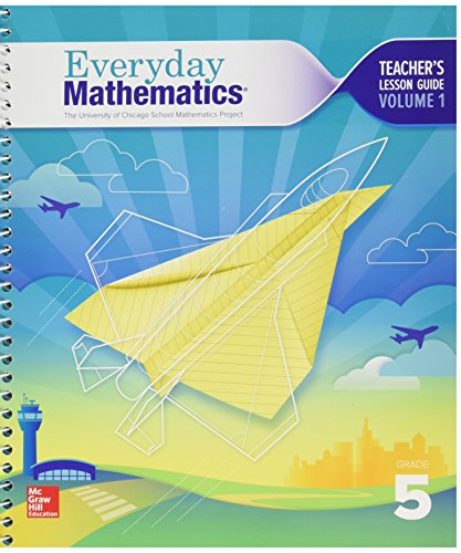 9780021430680: University of Chicago School Mathematics Project - Everyday Mathematics - Grade 5 - Teacher's Lesson Guide - Volume 1