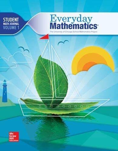9780021430826: Everyday Mathematics Student Math Journal Vol 1