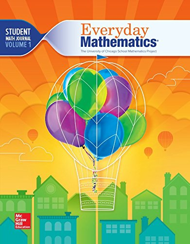 9780021430871: The University of Chicago School Mathematics Project - Everyday Mathematics - Grade 3 - Student Math Journal - Volume 1 - 002143087x-9780021430871