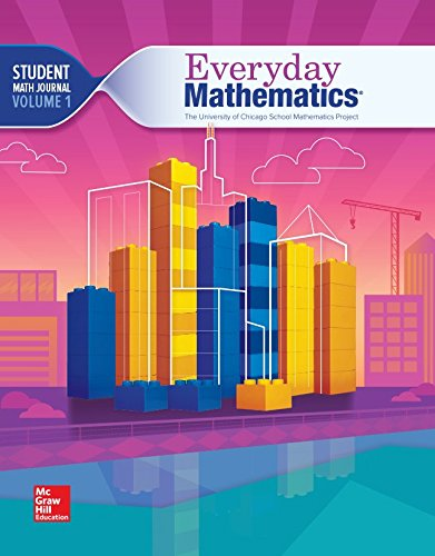 9780021430925: The University of Chicago School Math Project - Everyday Mathematics - Grade 4 - Student Math Journal - Volume 1 - 0021430923-9780021430925