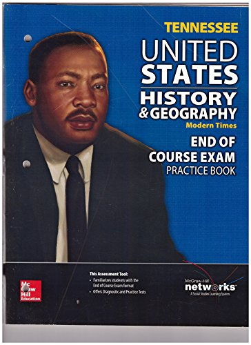 9780021437993: McGraw-Hill TENNESSEE United States History & Geography Modern Times End of Course Exam Practice Book