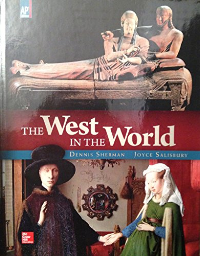 9780021438372: WEST IN THE WORLD-AP VERSION