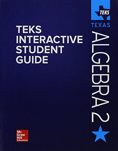 9780021440719: Teks Interactive Student Guide Algebra 2 Texas