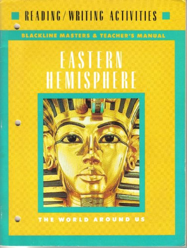 9780021452408: Eastern Hemisphere Workbook-blackline Masters and Teacher's Edition