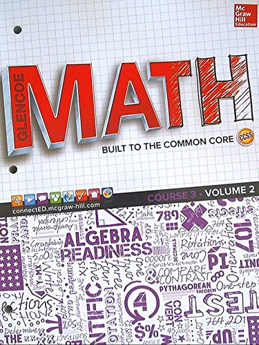 Glencoe Math, Course 3, Student Edition, Volume: PRICE ET AL