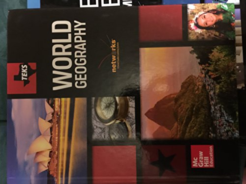 9780021454570: Teks World Geography Student Edition