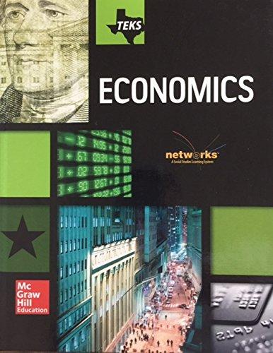 9780021456642: Teks Economics Student Edition Networks a Social Studies Learning System