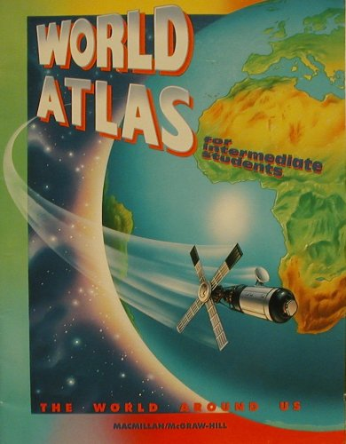 9780021458929: World atlas for intermediate students