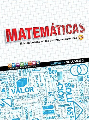 9780021459988: Glencoe Math, Course 1, Volume 2, Spanish Student Edition (MATH APPLIC & CONN CRSE) (Spanish Edition)