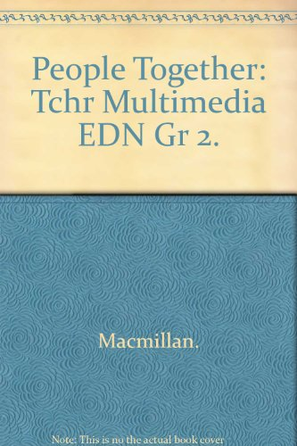 9780021465637: People Together, Teacher's Multimedia Edition, Grade 2 (Adventures in Time )