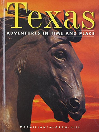 9780021465910: Texas (Adventures in Time and Place)