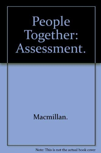 9780021466252: People Together Adventures in Time and Place Assessment Book (People Together)
