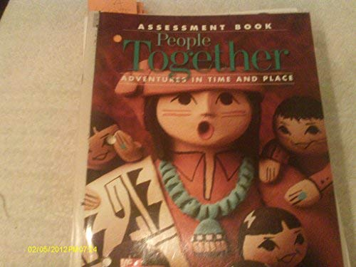9780021475575: Adventures in Time and Place : Assessment Book