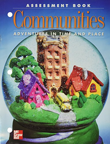 9780021475858: Communities (Adventures in Time and Place, Assessment Book)