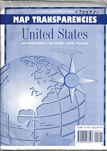 9780021476091: Map Transparencies (United States: Adventures in Time and Place)