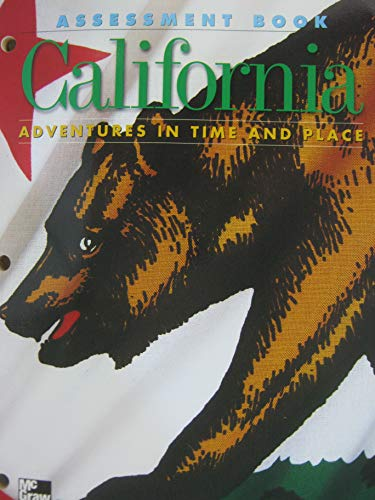 9780021476510: California: Adventures in Time and Place : Assessment Book